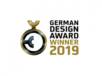 GERMAN DESIGN AWARD GEWINNER 2019